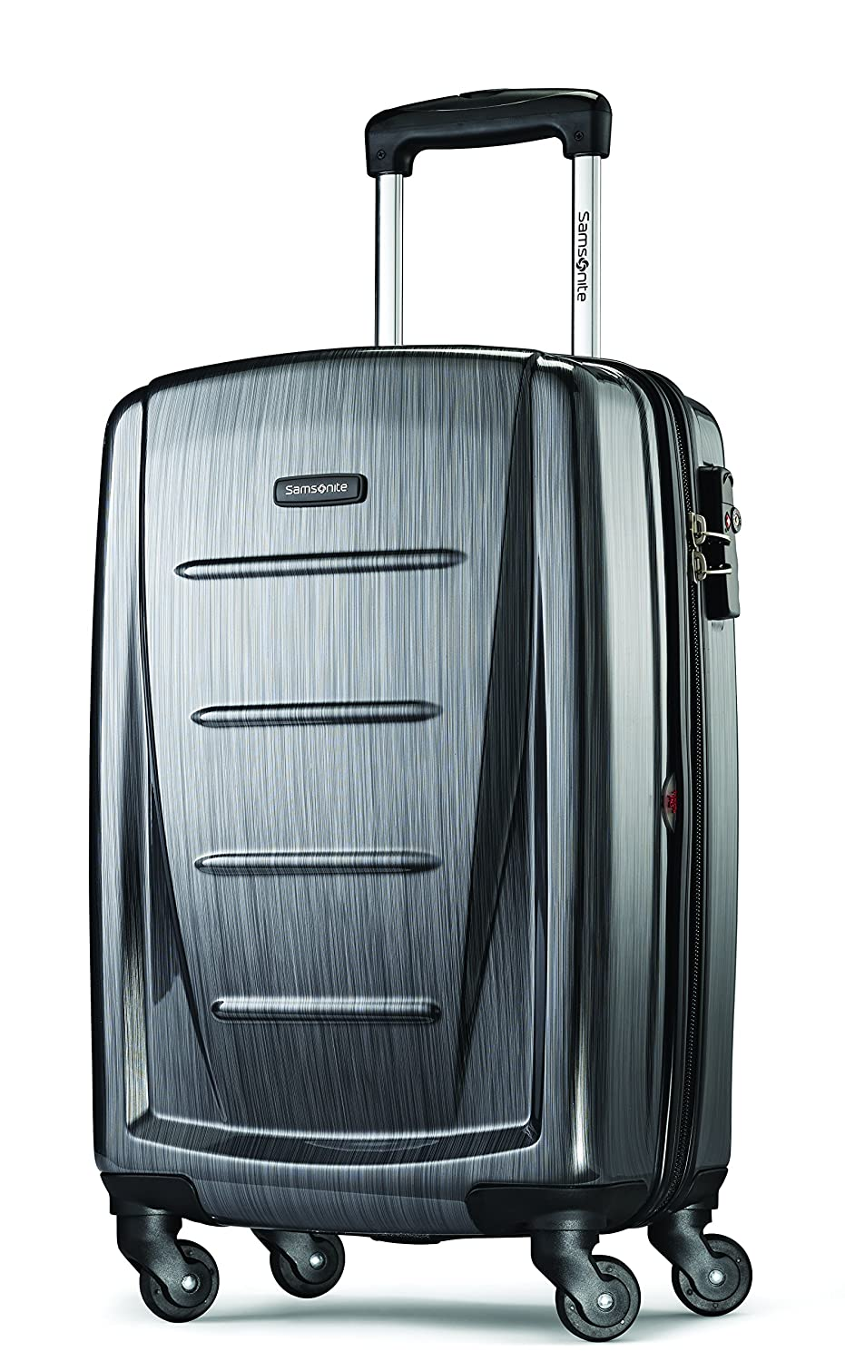 amazon com samsonite winfield 2 hardside 20 luggage charcoal
