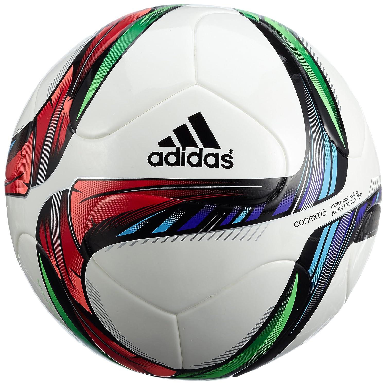 adidas Conext15j290 Balón, Hombre, Blanco/Negro/Verde, 4: Amazon ...
