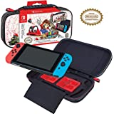 Officially Licensed Nintendo Switch Super Mario Odyssey Carrying Case - Protective Deluxe Hard Shell Case with Adjustable Vie