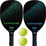 Franklin Sports Not Applicable ACTIVATOR Wood Paddle X-40 Set, Multicolor