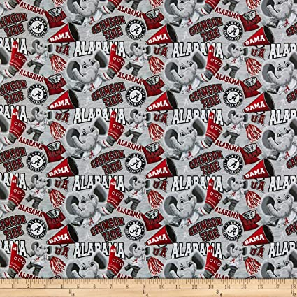 Fabric By The Yard Sykel Enterprises NCAA Cotton Broadcloth Florida Collegiate Mascot Fabric Team Color