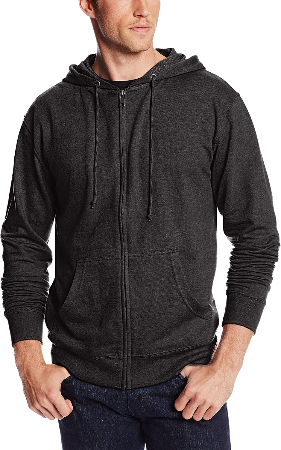 Unisex French Terry Zip Hoodie