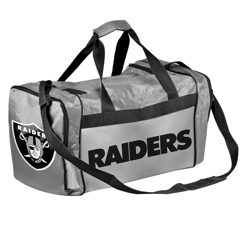 Oakland Raiders Core Duffleバッグ – グレー   B074R1ZP2G