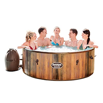 Bestway Helsinki AirJet Hot Tub, Bubbles Massage : Garden & Outdoor