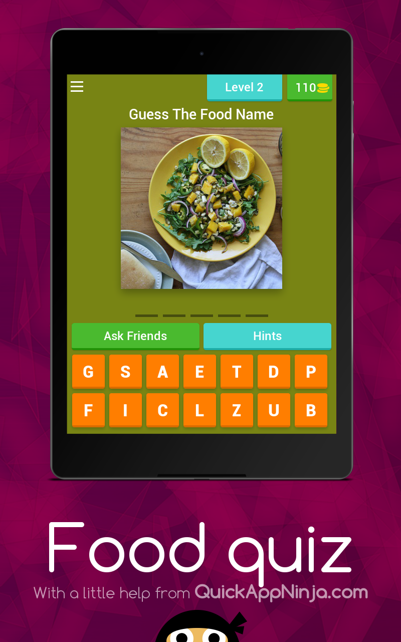Amazon com: Food quiz: Appstore for Android
