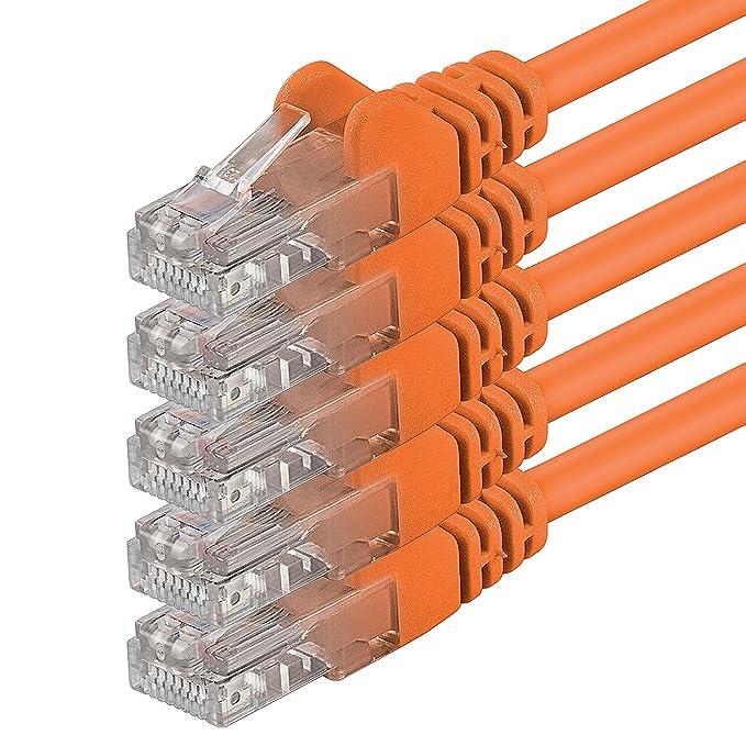 60 opinioni per 1aTTack 10m Cat6 UTP Cavo di Rete U/UTP (UTP) Arancione