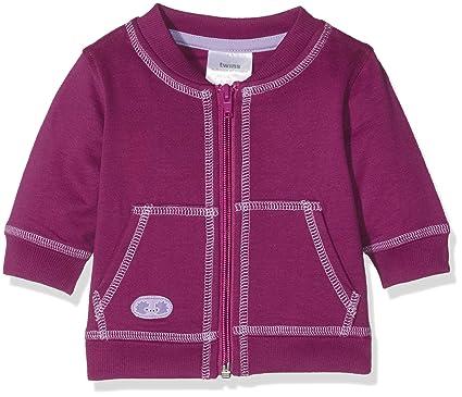 6f3ba0faa640 Twins Baby-Mädchen Sweatjacke mit Reißverschluss und Kapuze  Amazon.de   Bekleidung