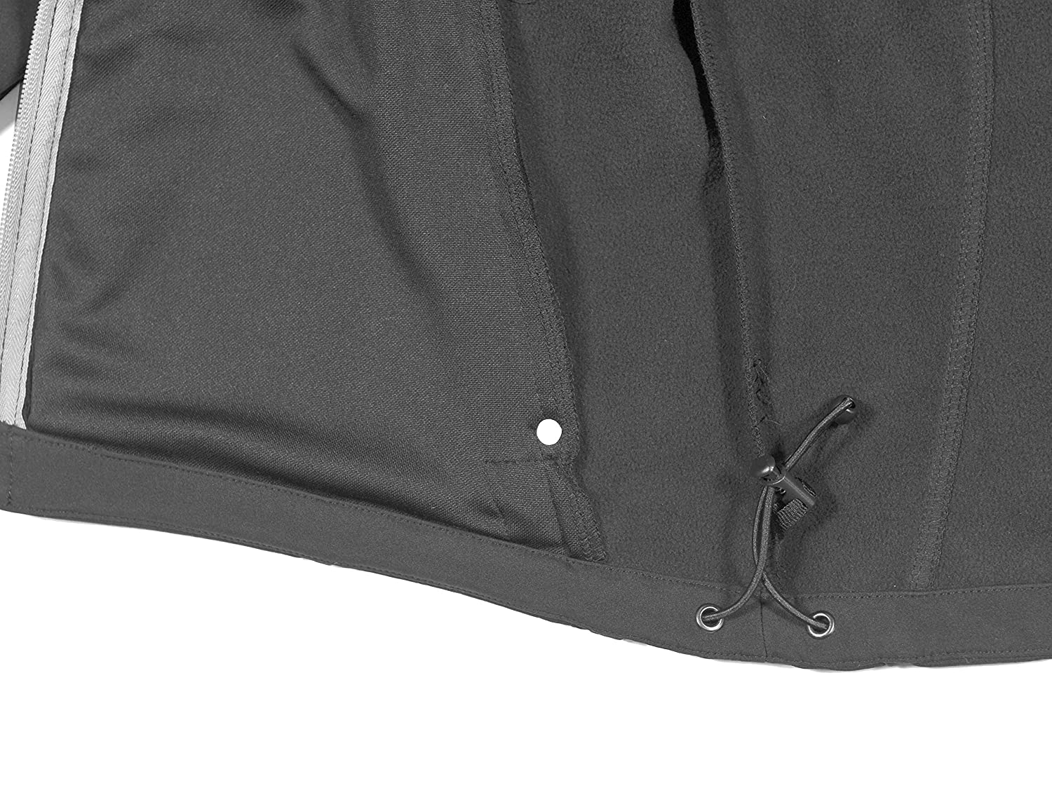 Fleece Lined and Water Repellent Little Donkey Andy Men/'s Softshell Jacket with Removable Hood