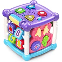 VTech 80-150589 Busy Learners Activity Cube, Purple