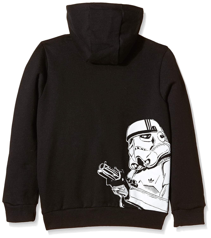 adidas veste à capuche pour garçon motif au recto stormtrooper de star wars  10 ans Noir - noir/blanc: Amazon.fr: Sports et Loisirs