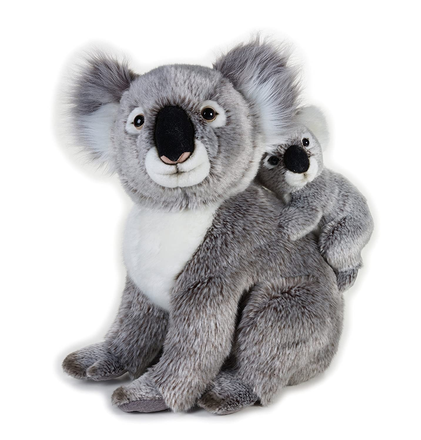 "'Ulysse 770761 – ""Koala with baby National Geographic Peluche"