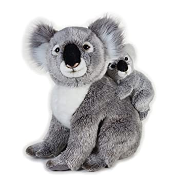 "Vicky Tiel Ulysse 770761 – ""Koala with Baby National Geographic Peluche"