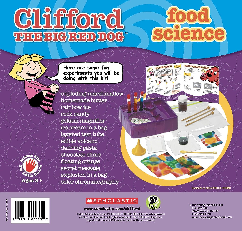 Young Scientist Club Clifford el Gran Perro Rojo Alimentos Kit de Ciencia: Amazon.es: Juguetes y juegos