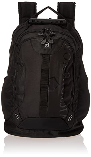 cdc3846a109 Amazon.com  Victorinox Vx Sport Trooper Laptop Backpack, Black Logo