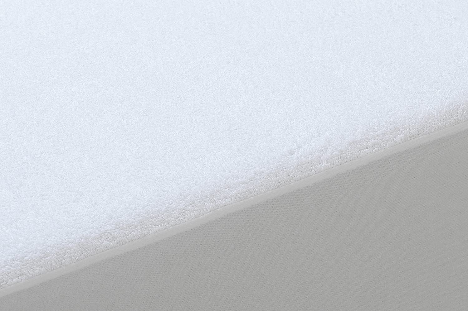 Waterproof /& Breathable Bamboo Mattress Protector Cot Size 60x120cm Tural
