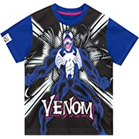 Marvel Camiseta de Manga Corta para niños Venom