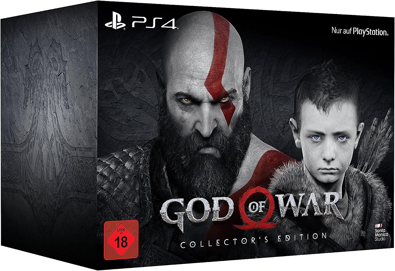God of War - Collectors Edition - PlayStation 4 [Importación ...