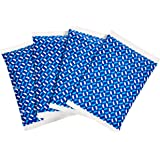 "AmazonBasics Reusable Flexible Soft Sided Ice Pack, 6.7"" X 4.3"", Blue, Pack of 4"