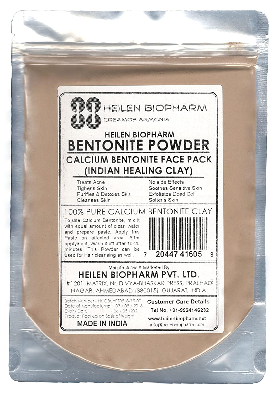 ベントナイトパウダー(インドヒーリングクレイ) (Bentonite Powder - Indian Healing Clay) (カルシウム (Calcium), 400 gm / 14 oz / 0.88 lb) B078JP4G1C   400 gm / 14 oz / 0.88 lb