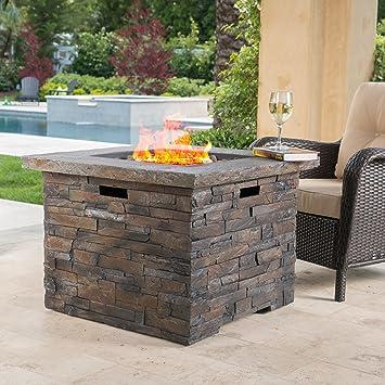 Stonecrest Patio Furniture ~ Outdoor Propane (Gas) Fire Pit(Table) 40,000BTU