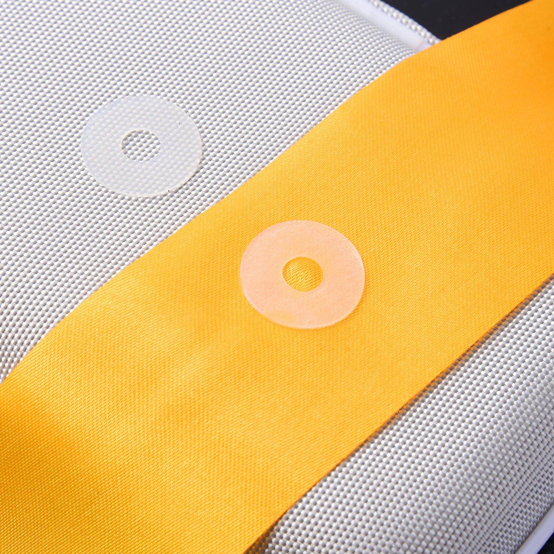 Semi-Transparent 240 Pieces BBTO Adhesive Non-Slip Grips for Quilt Templates