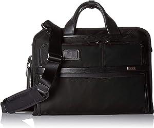 TUMI - Alpha 3 Slim Three Way Laptop Briefcase - 15 Inch Computer Bag for Men and Women - Black
