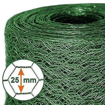 Mammut® Drahtzaun / Sechskant-Geflecht | Maschenweite 25 mm ...