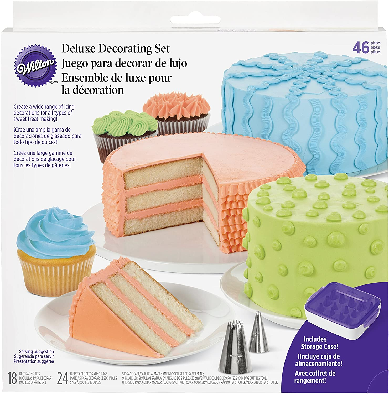 Wilton 46-Piece Deluxe Cake Decorating Set