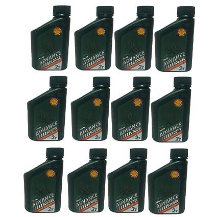 Shell Advance 2 Stroke Semi Aceite sintético 500 ml, Patinete ...