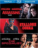Assassins / Cobra / The Specialist (Triple Feature) [Blu-ray]