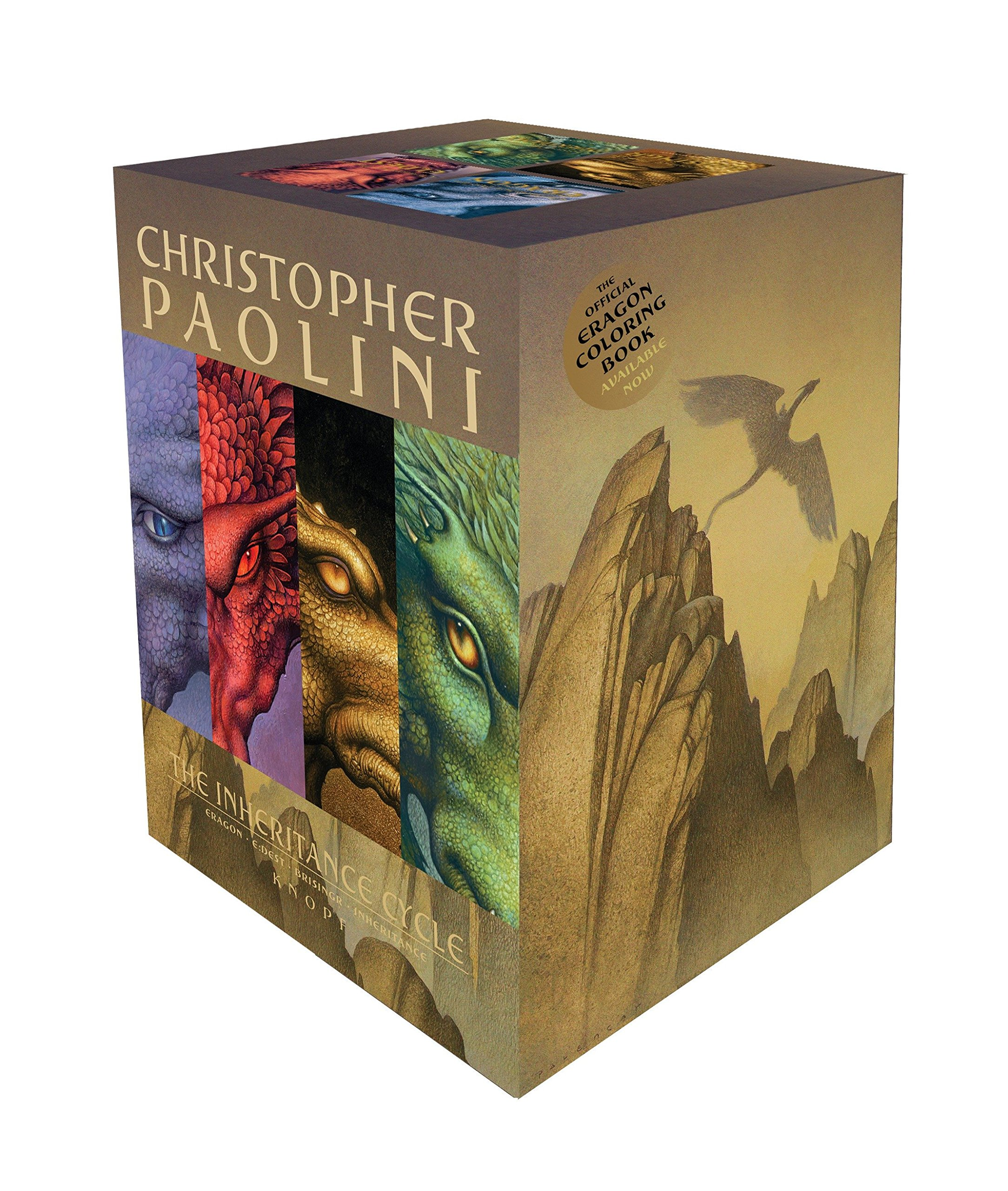 The Inheritance Cycle Series 4 Book Set Collection Eragon, Eldest, Brisngr by Christopher Paolini