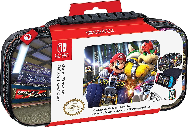 Ardistel - Game Traveler Deluxe Travel Case NNS50B (Nintendo Switch): Amazon.es: Videojuegos