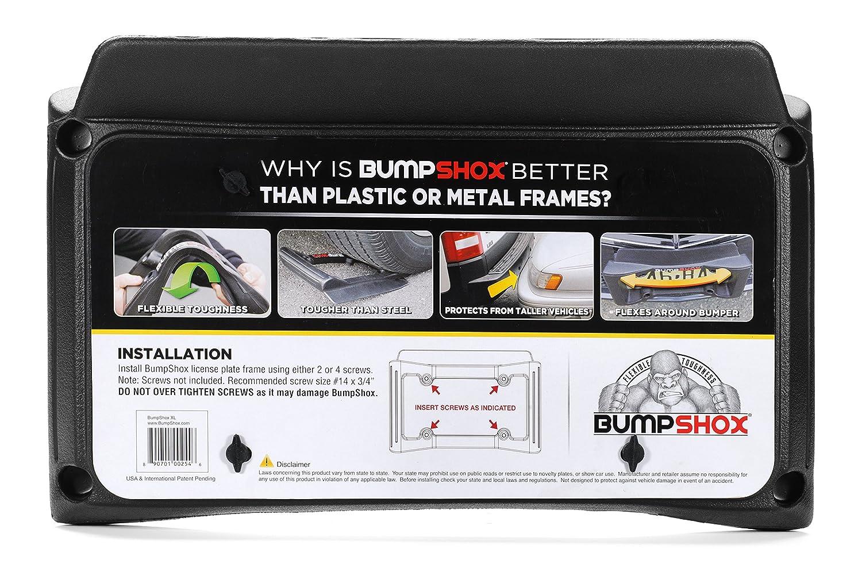 Amazon.com: BumpShox XL - Front Car Bumper Protection, Ultimate ...