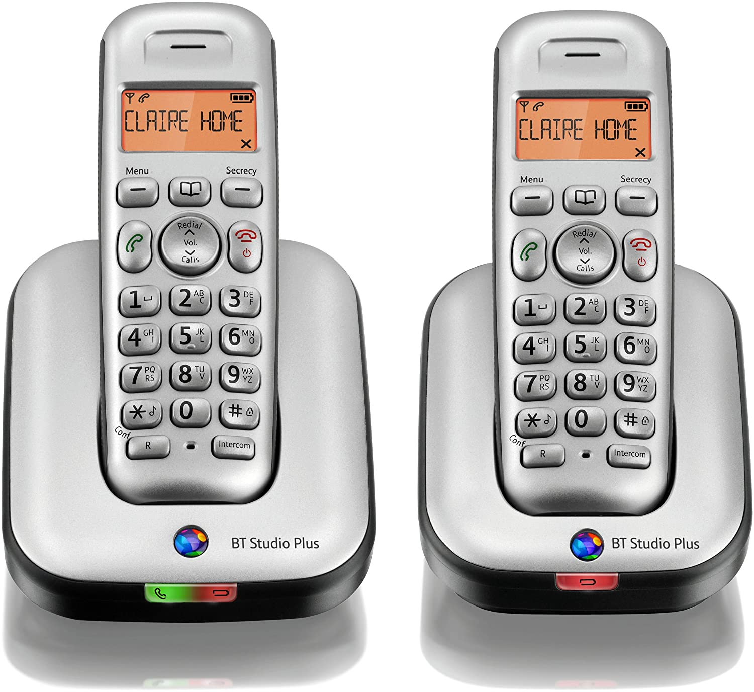 BT Studio Plus 4100 Twin DECT Cordless Telephone: Amazon.co.uk: Electronics