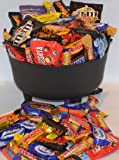 Halloween. The Witches Cauldron Containig 60 Fun Size Bars of Cadburys, Mars And Nestle Chocolate.. Perfect For Halloween, Trick Or Treat.