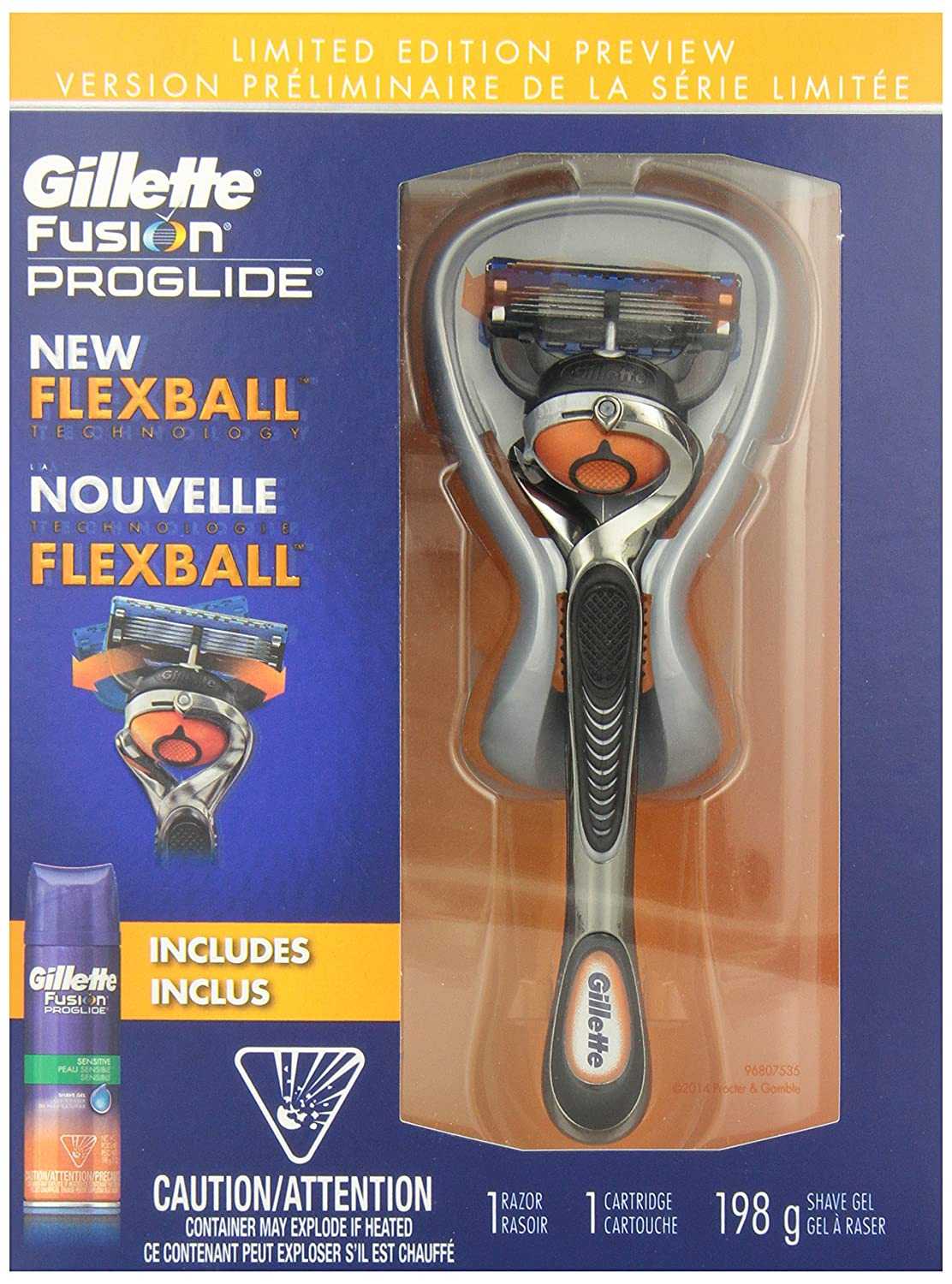 Gillette fusion proglide manual razor with flexball technology - Gillette Fusion Proglide Manual Men S Razor With Flexball Technology With Bonus Shave Gel Sells On Amazon I Think The Price Is Very Good