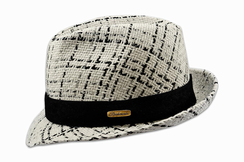 77ecbf8f24ec0 Sterkowski Woolen Sewn Trilby Hat Salt   Pepper Vintage  ZAB-SNP-Wv1changechange