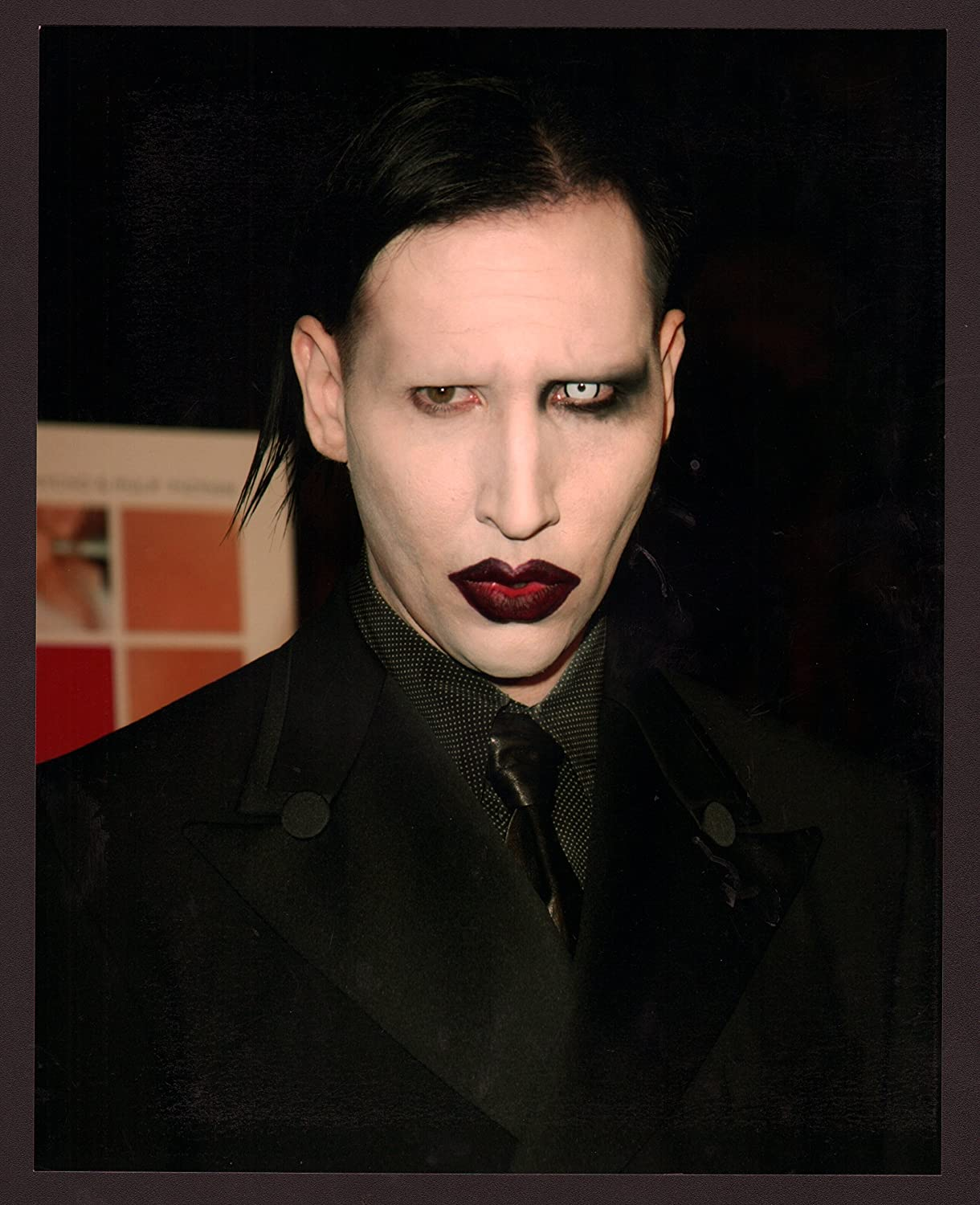 Movie Photo Marilyn Manson 8x10 Color Photo At Amazons