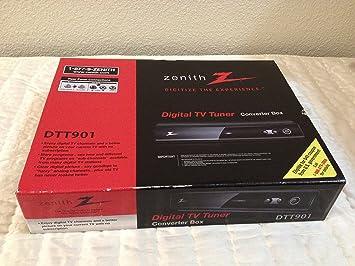 zenith dtt901 digital tv tuner converter box manual