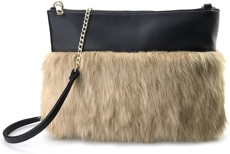 Twotone Faux Fur Texture...