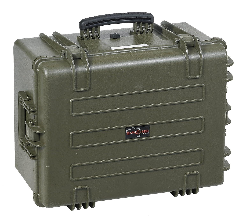 EXPLORER CASES エクスプローラーケース ク 内装ウレタンフォーム付 5833  ミリタリーグリーン B0053K8XFQ