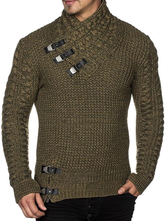 Tazzio Styler 16477 - Jersey de punto grueso para hombre
