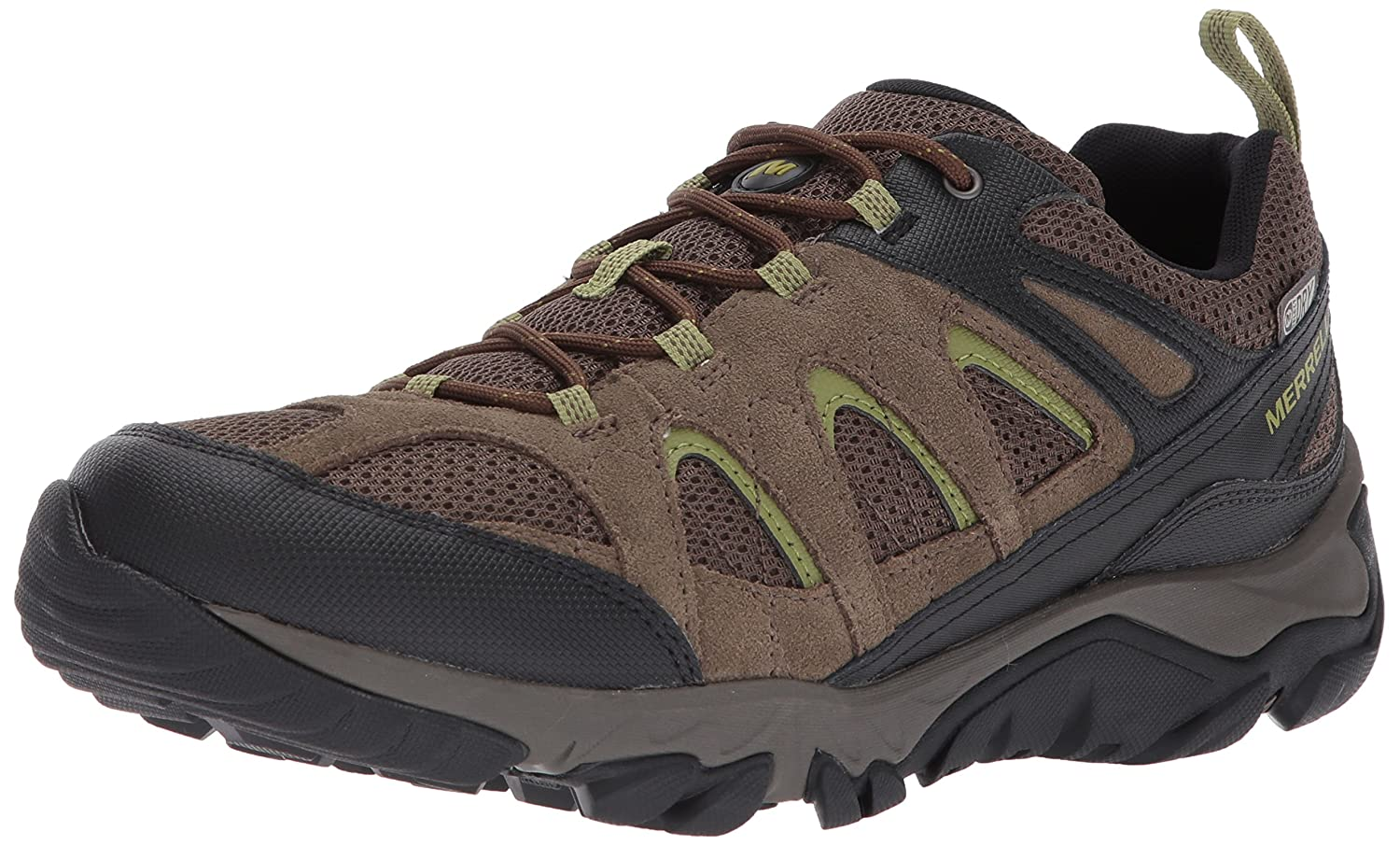 Merrell Men's Outmost Vent Waterproof Hiking Shoe B072QZMYK6 10 W US|Boulder