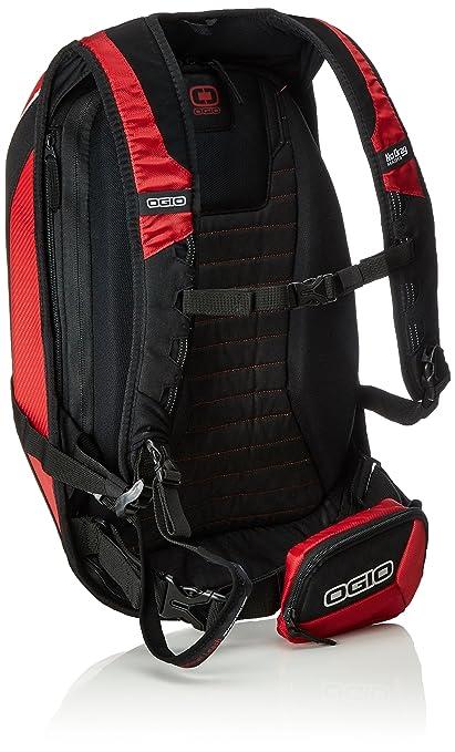 Ogio Mach 5 >> Amazon Com Ogio 123006 02 Red No Drag Mach 5 Motorcycle Bag Pack