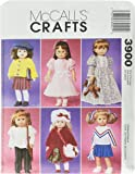 McCall's Patterns M3900 Doll Clothes For 18-Inch Dolls, One Size Only