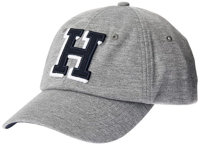 35472ae3f Tommy Hilfiger H Light Grey Heather Cap AM0AM04123047: Amazon.co.uk:  Clothing