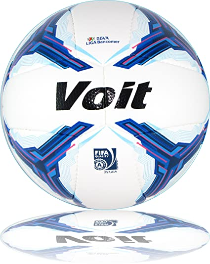 Amazon.com   Voit Soccer Ball New 2015 Blue Size 5   Sports   Outdoors 452967c53a