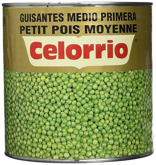 Celorrio 50-50025 Guisante Mediano Lata - 3 kg