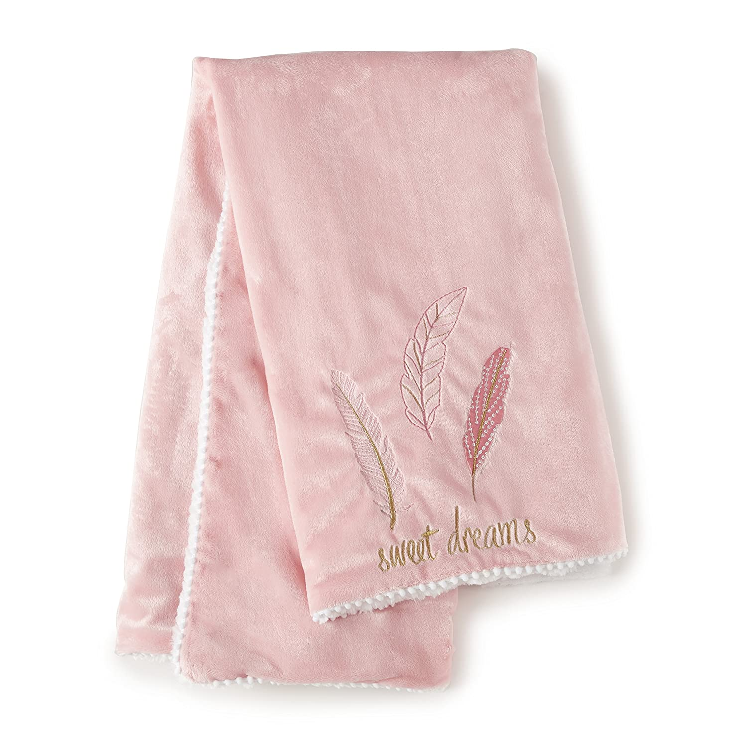 Levtex Baby Little Feather Blanket - Coral
