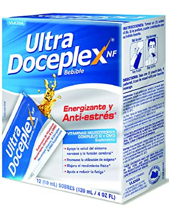 Ultradoceplex Drinkable Energy Booster 4 oz fl - Suplemento Multivitaminico (Pack of 1)